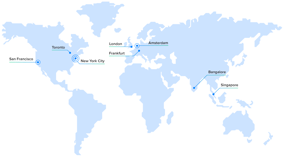 DigitalOcean Data center Locations